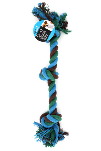 Cotton Triple Knot Rope Dog Toy