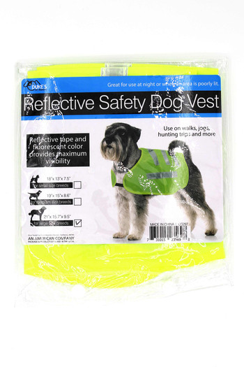 Wholesale Reflective Safety Vest for Dogs