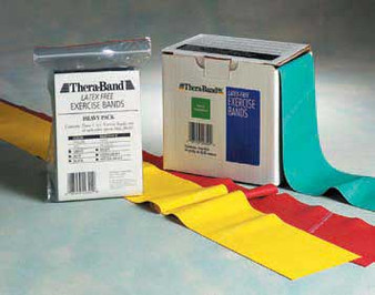 Thera-Band Latex Free Resistance Band - Yellow 25-yd Roll