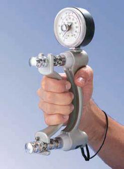 Jamar Hydraulic Hand Dynamometer - 200lb