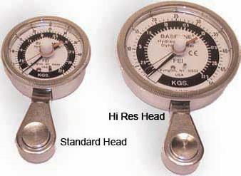 Baseline 50lb Hi-Res Head Hydraulic Pinch Gauge