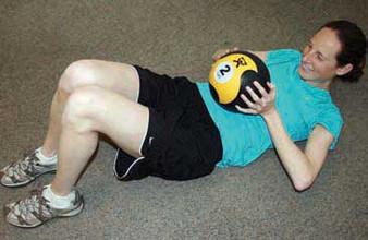 Cando Bouncing Plyoball Rubber Medicine Ball - 30 Pound