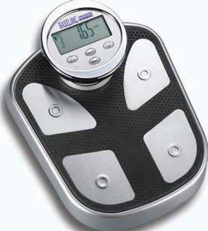Baseline Steel Body Fat Hydration Monitor Scale