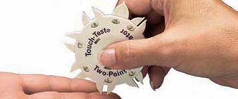 Touch-Test 2-point Nerve Impairment Discriminator