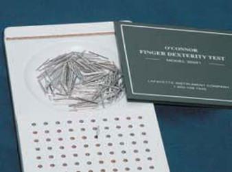O'Connor Finger Dexterity Test by Lafayette Instrument