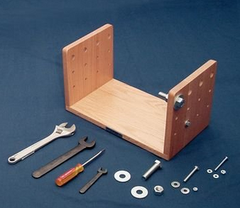 Full Set of Tools, Washers, Screws, and Bolts for Hand Dexterity Testing