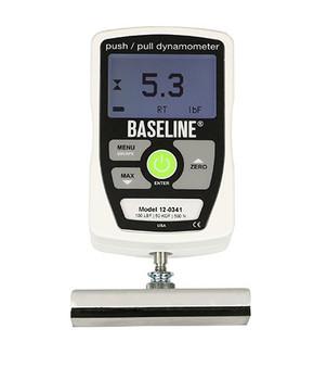 Baseline® MMT 100lb Electronic Hydraulic Push-Pull Dynamometer