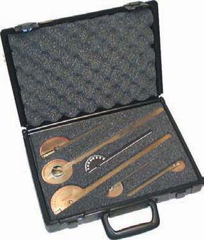 6 Piece Stainless Steel Goniometer Set