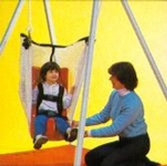 Prone Net Swing with Feeder Seat for TumbleForms Vestibulator