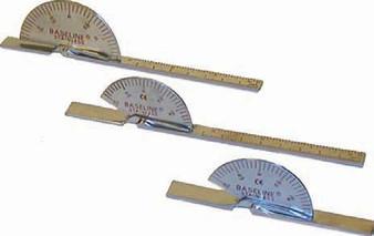 Baseline Deluxe 6-Inch Stainless Steel Finger Goniometer 25 Pack