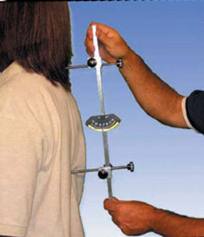 Measurements can detect scoliosis and abnormal anteropostero curve.