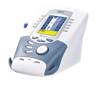 Vectra Genisys Combination Therapy System features Laser Therapy, E-stim and Ultrasound capabilities