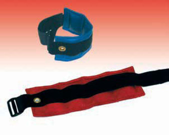 D-Ring Cuff Weight Wrist/Ankle Weight Band - 9 Pound Parchment