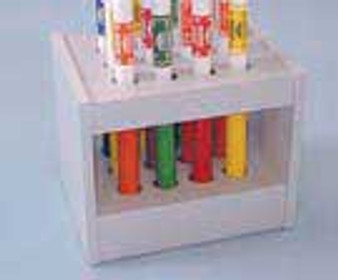 Cando Wate Bar 15-Slot Storage Cart