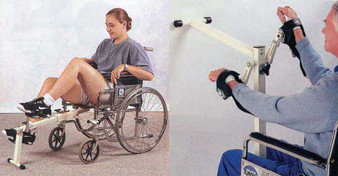 Cando Bi-Directional Chair Cycle for Clinic and Home Use
