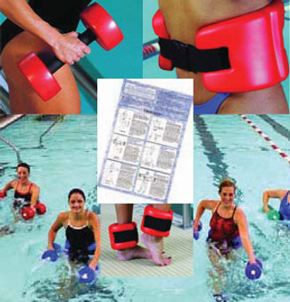 Cando Aquatic Therapy Deluxe Exercise Kit