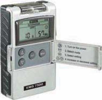 Digital 2-Channel 3 Mode Electrical Muscle Stimulation EMS Unit