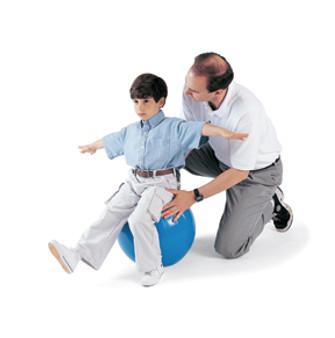 TumbleForms Ball - Vestibular and Balance Training, Exercise