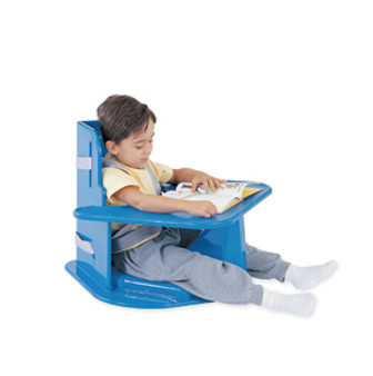 TumbleForms Corner Chair with Tray