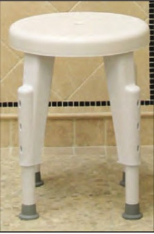 Shower Stool - Fixed and Rotating