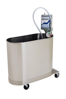 Whitehall Stainless Steel Extremity Mobile Whirlpool 45 Gallon