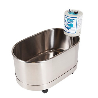 Whitehall's most compact and portable whirlpool therapy tub - Little Champ Tabletop Whirlpool