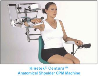 Kinetek Centura  Anatomical Shoulder Continuous Passive Motion Machine