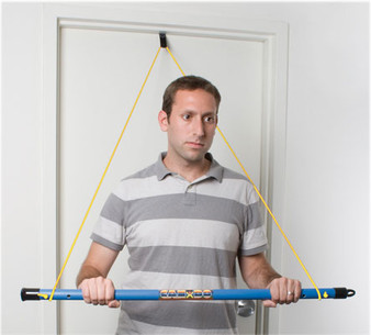 CanDo® over door exercise bar and tubing