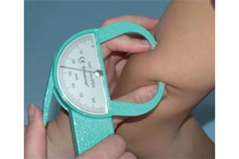 Dynatron Skinfold Caliper for measuring body composition.