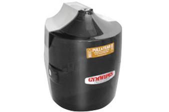 GymWipes Smoke Gray Wall Dispenser