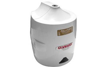 GymWipes White Wall Dispenser