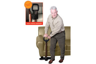 Couch Cane Safety Handle with Pouch