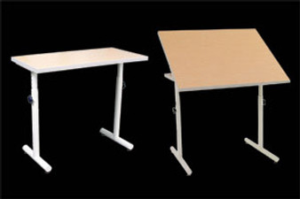 Wheelchair Accessible Work Table with Tilt