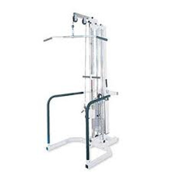 Freestanding Single Pulley with Handrails