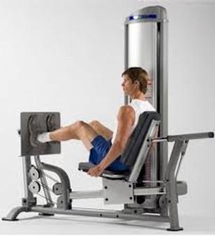 TuffStuff Seated Leg Press