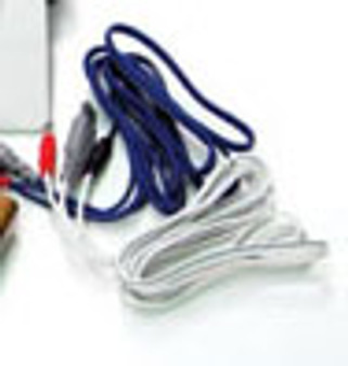 White Lead Wires for Trio*Stim 215 Electrical Stimulation Device