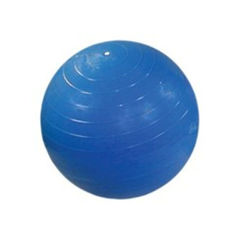 """CanDo® Inflatable Exercise Ball - Super Thick - Blue - 34"""" (85 cm)"""