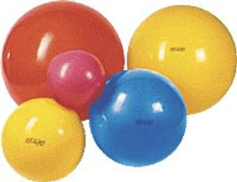 PhysioGymnic Inflatable Exercise Ball (Red, 34 inches)