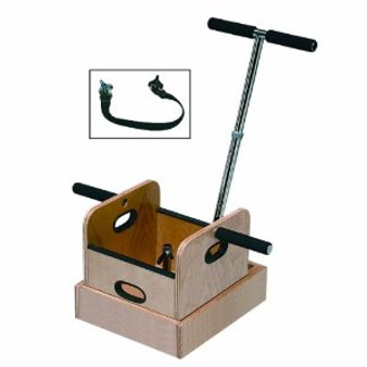 T-Handle Work Device Weighted Push Pull Sled with Accessory Box
