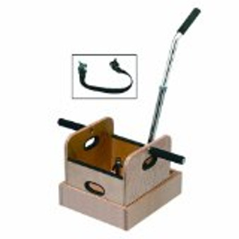 Straight Handle Work Device Mobile Weighted Sled with Accessory Box