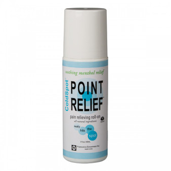 Point Relief Coldspot Lotion (3 oz roll-on bottle, 12-piece pack)