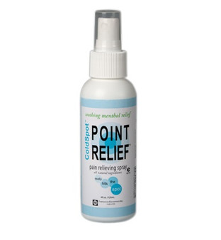 Point Relief Coldspot Lotion (4 oz spray bottle, 144-piece pack)