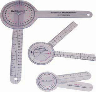 6-inch Plastic 360-Degree ISOM/STFR Goniometer