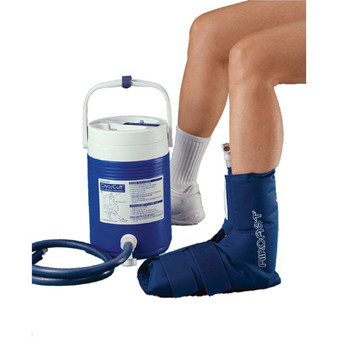 AirCast CryoCuff for Ankle with Gravity Feed Cooler