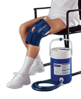 AirCast CryoCuff for Knee (Large) with Gravity Feed Cooler