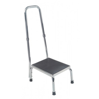 Foot Stool with Hand Rail for Clinics and Treatment Facilities