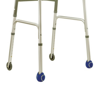 Ball-type Scuff Protector for Folding Walkers (Accessory)