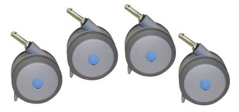 Positioning Commode System Caster Set (Accessory)