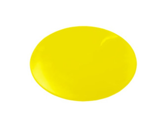 Dycem Non-Slip Circular Pad (Yellow, 8 1/2 inches)
