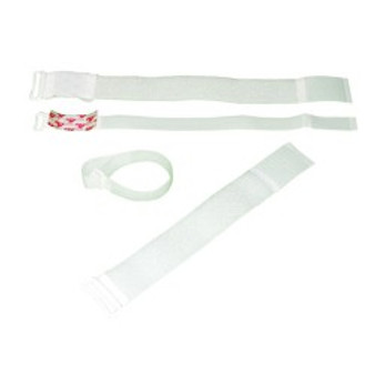 D-Ring Strap with Self-Adhesive Hook (2 x 12 inches, 10 pieces)